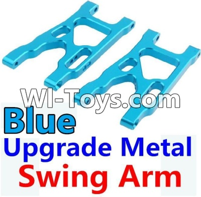 Wltoys 10428-C Upgrade Parts-Upgrade Metal Swing Arm Parts-Blue-2pcs,Wltoys 10428-C Parts