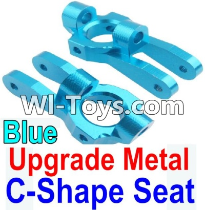 Wltoys 10428-C Upgrade Parts-Upgrade Metal C-Shape Seat Parts-Blue-2pcs,Wltoys 10428-C Parts