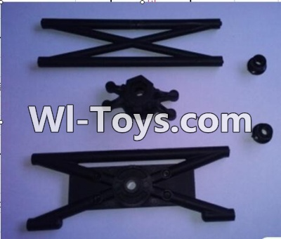 Wltoys 10428-C RC Car Parts-Rear Rollcage A and B,Wltoys 10428-C Parts