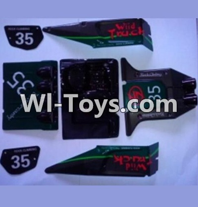 Wltoys 10428 RC Car Parts-Body shell cover,10428 Car shell,Wltoys 10428 Parts