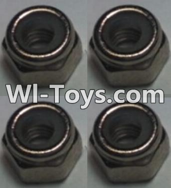 Wltoys 10428-C RC Car Parts-M2.5 Locknut(4pcs),Wltoys 10428-C Parts