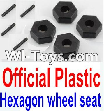 Wltoys 10428-C RC Car Parts-12MM Hexagon wheel seat Parts,Tire adapter(4pcs),Wltoys 10428-C Parts