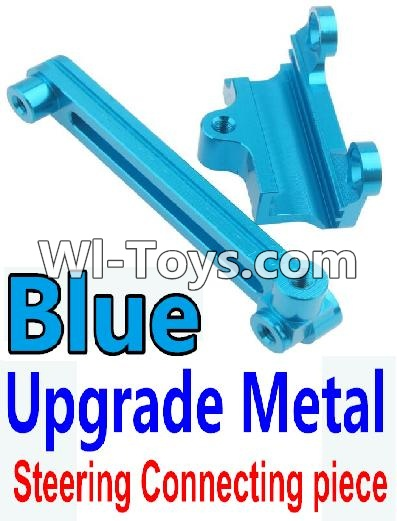 Wltoys 10428-C Upgrade Parts-Upgrade Metal Steering connecting piece-Blue,Wltoys 10428-C Parts
