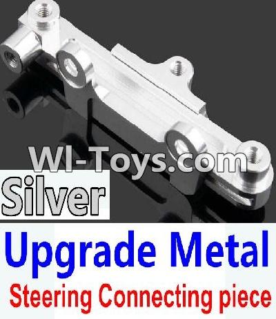 Wltoys 10428-C Upgrade Parts-Upgrade Metal Steering connecting piece-Silver,Wltoys 10428-C Parts