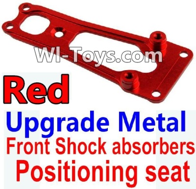 Wltoys 10428-C Upgrade Parts-Upgrade Metal Front Shock absorbers Positioning seat-Red,Wltoys 10428-C Parts