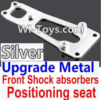 Wltoys 10428-C Upgrade Parts-Upgrade Metal Front Shock absorbers Positioning seat-Silver,Wltoys 10428-C Parts