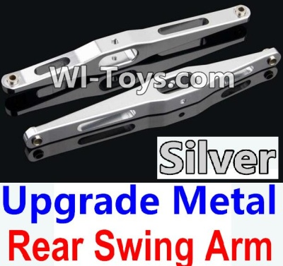 Wltoys 10428-C Upgrade Parts-Upgrade Metal Rear Swing Arm Parts-Silver-2pcs,Wltoys 10428-C Parts