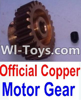 Wltoys 10428-C RC Car Parts-Copper Motor gear,Wltoys 10428-C Parts
