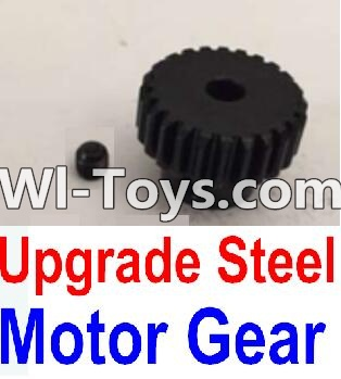Wltoys 10428-C Upgrade Parts-Upgrade Steel Motor gear,Wltoys 10428-C Parts