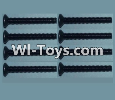 Wltoys 10428-C RC Car Parts-Flat head inner hexagon Screws Parts-M2X16-(8pcs),Wltoys 10428-C Parts