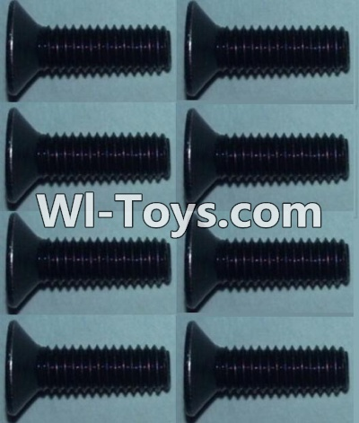 Wltoys 10428-C RC Car Parts-Flat head inner hexagon Screws Parts-M3X10-(8pcs),Wltoys 10428-C Parts