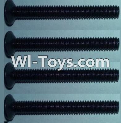 Wltoys 10428-C RC Car Parts-Flat head inner hexagon Screws Parts-M4X32-(4pcs),Wltoys 10428-C Parts