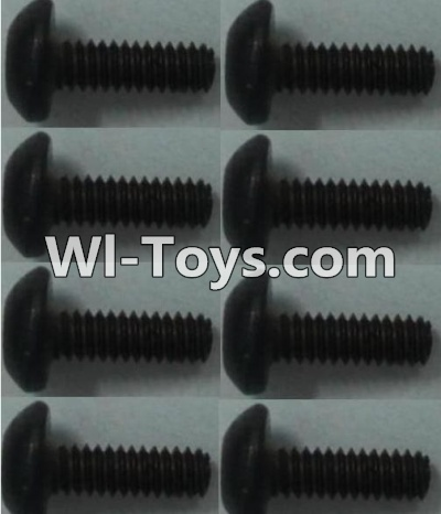 Wltoys 10428-C RC Car Parts-Pan head inner hexagon Screws Parts-M2X6-(8pcs),Wltoys 10428-C Parts