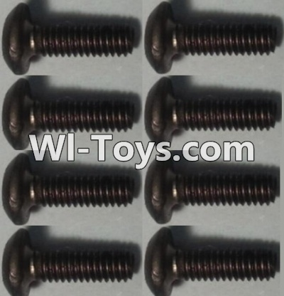 Wltoys 10428-C RC Car Parts-Pan head inner hexagon Screws Parts-M2.5X6-(8pcs),Wltoys 10428-C Parts