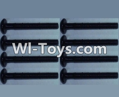 Wltoys 10428-C RC Car Parts-Pan head inner hexagon Screws Parts-M2.5X20-(8pcs),Wltoys 10428-C Parts