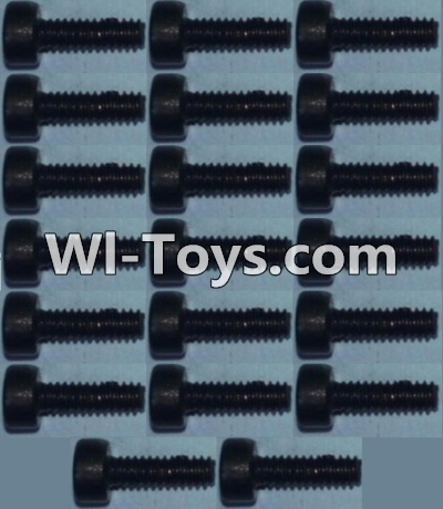 Wltoys 10428-C RC Car Parts-Cup head inner hexagon Screws M2X6-(20pcs),Wltoys 10428-C Parts