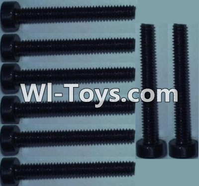 Wltoys 10428-C RC Car Parts-Cup head inner hexagon Screws Parts-M2X16-(8pcs),Wltoys 10428-C Parts