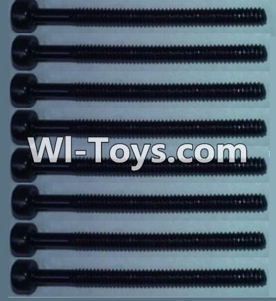 Wltoys 10428-C RC Car Parts-Cup head inner hexagon Screws Parts-M2X24(8pcs),Wltoys 10428-C Parts