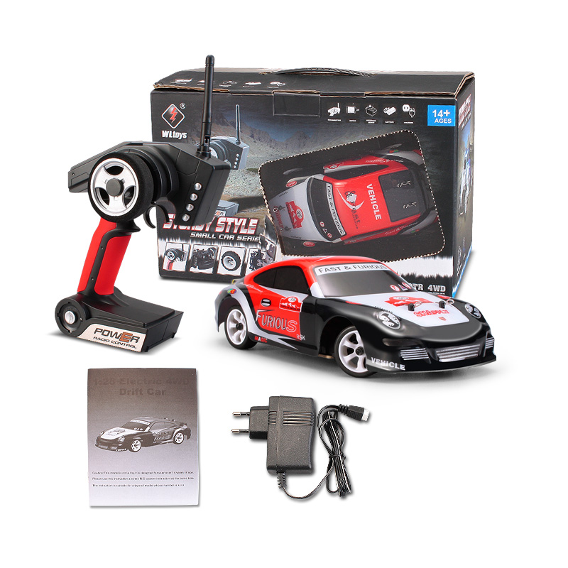 Wltoys K969 RC Car Wltoys K969 RC Car Parts-High speed 1/28 1:28 Full-scale rc racing car
