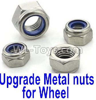Wltoys P939 Upgrade Metal nuts for wheel(4pcs0,Wltoys P939 Parts