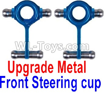 Wltoys K999 Upgrade Metal Front Steering Cup(2pcs),Wltoys K999 Parts