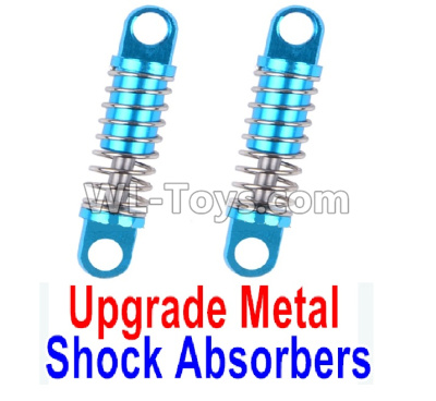 Wltoys K999 Upgrade Metal Shock Absorbers Parts(2pcs)-Blue,Wltoys K999 Parts