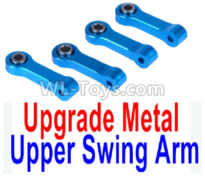 Wltoys K999 Upgrade Metal Upper Swing Arm Parts(4pcs)-Blue,Wltoys K999 Parts