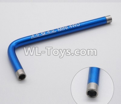 Wltoys P939 L-Shap wrench-Blue,Wltoys P939 Parts