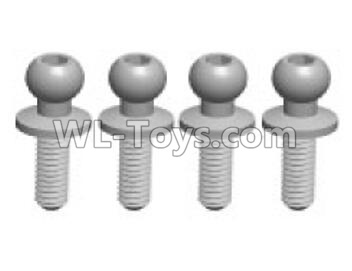 Wltoys K999 Ball screw(4pcs)-3.5X10.8-K999-10,Wltoys K999 Parts