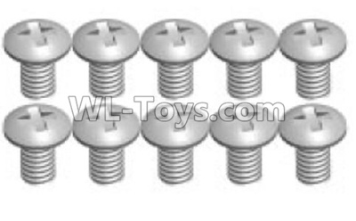 Wltoys P929 RC Car Screws Parts(10pcs)-2X4PM-P929-14,Wltoys P929 Parts