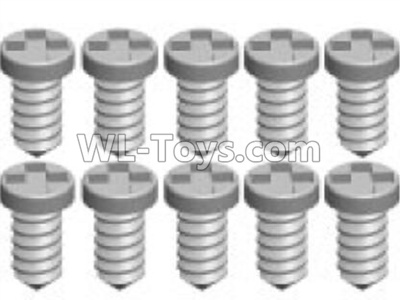 Wltoys P929 RC Car Screws Parts(10pcs)-1.4X4PA-P929-20,Wltoys P929 Parts