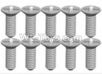 Wltoys K999 screws Parts(10pcs)-2X6KB-K999-21,Wltoys K999 Parts