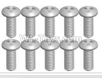Wltoys K999 screws Parts(10pcs)-2X5KB-K999-22,Wltoys K999 Parts
