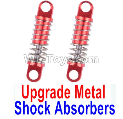 Wltoys P929 Upgrade Metal Shock Absorbers Parts(2pcs)-Red,Wltoys P929 Parts