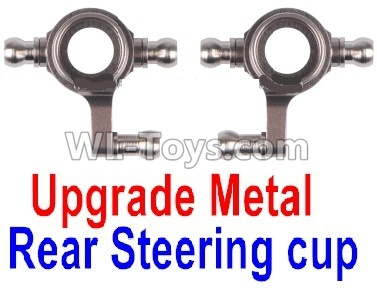 Wltoys P929 Upgrade Metal Rear Steering Cup Parts(2pcs)-Gray,Wltoys P929 Parts