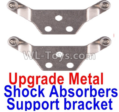 Wltoys K999 Upgrade Metal Shock Absorbers Parts Support bracket(2pcs)-Gray,Wltoys K999 Parts