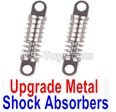 Wltoys P929 Upgrade Metal Shock Absorbers Parts(2pcs)-Gray,Wltoys P929 Parts