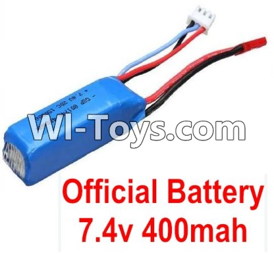 Wltoys K999 RC Car Parts-Battery,Battery-Official WLtoys 7.4V 400mAh Battery Battery Akku,Wltoys K999 Parts