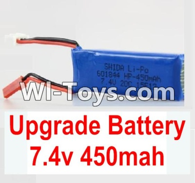 Wltoys K999 Upgrade Parts-Upgrade Battery-Upgrade 7.4V 450MAH Battery,Wltoys K999 Parts