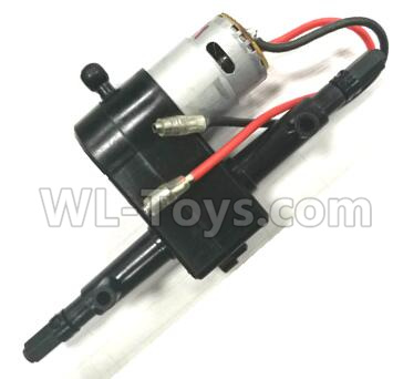 Wltoys L209 RC Car Parts-1550 Rear gearbox assembly(Include the Motor),Wltoys L209 Parts
