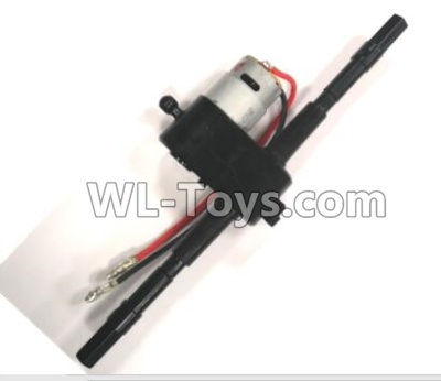 Wltoys L219 RC Car Parts-Rear Gearbox assembly,include the motor-1556,Wltoys L219 Parts