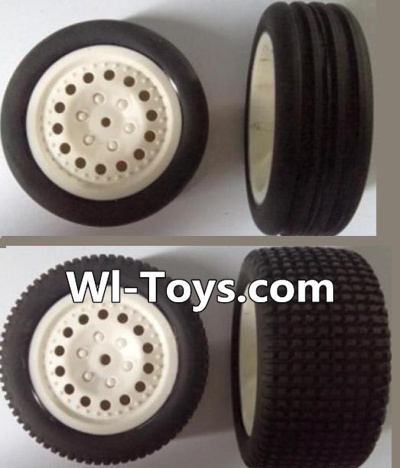 Wltoys L303 RC Car Parts-Front wheel(2pcs) & Rear wheel-(2pcs),Wltoys L303 Parts