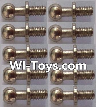 Wltoys L303 RC Car Parts-Ball head screws Parts(10pcs)-φ4.9X13mm,Wltoys L303 Parts