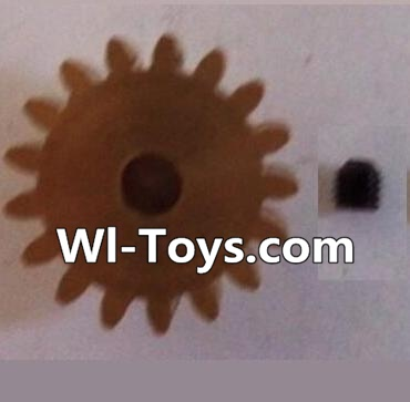 Wltoys L303 RC Car Parts-17T Motor Gear(17 Teeth)-hole diameter 3.17mm,M-0.8,Wltoys L303 Parts