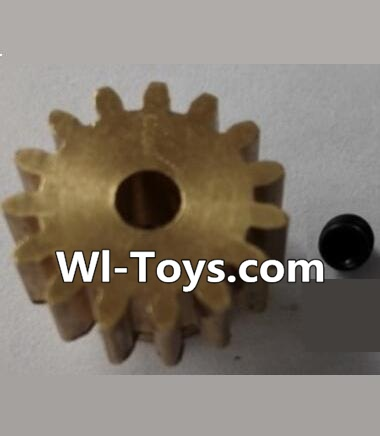 Wltoys L303 RC Car Parts-P949-26 15T Motor Gear(15 Teeth)-hole diameter 3.17mm,M-0.8,Wltoys L303 Parts