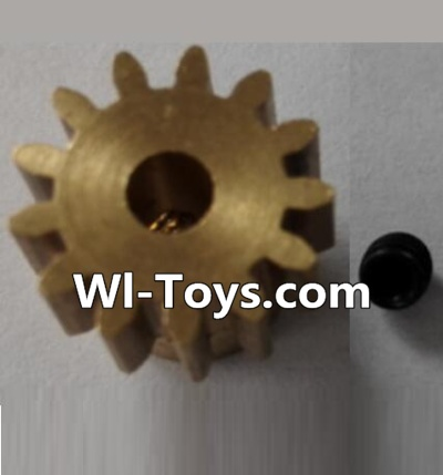 Wltoys L303 RC Car Parts-P949-27 13T Motor Gear(13 Teeth)-hole diameter 3.17mm,M-0.8,Wltoys L303 Parts