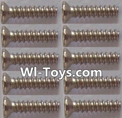 Wltoys L303 RC Car Parts-Countersunk self tapping screws Parts(10pcs)-1.7x8KB,Wltoys L303 Parts