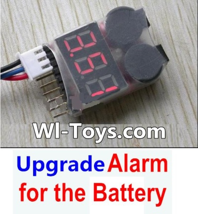 Wltoys L303 Upgrade Parts-Upgrade Alarm for the Battery,Can test whether your battery has enouth power,Wltoys L303 Parts