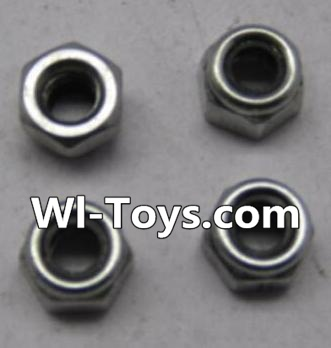 Wltoys L303 RC Car Parts-K949-108 M2.5 lock nut Parts-(4pcs),Wltoys L303 Parts
