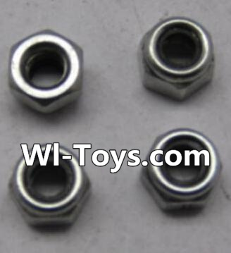Wltoys L303 RC Car Parts-A929-95 M3 Lock nut Parts-(4pcs),Wltoys L303 Parts